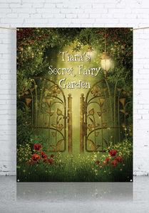 secret-garden-fairy-backdrop-banner