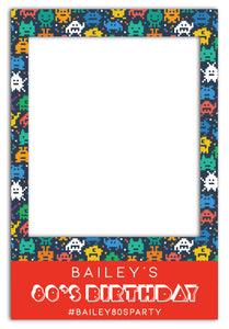 80s-theme-party-photo-booth-frame-prop