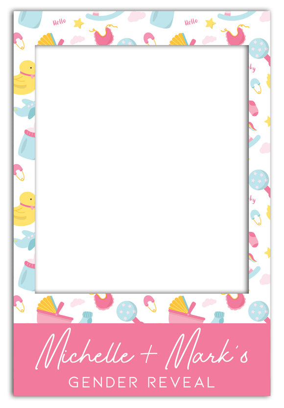 gender-reveal-party-photo-booth-frame-prop