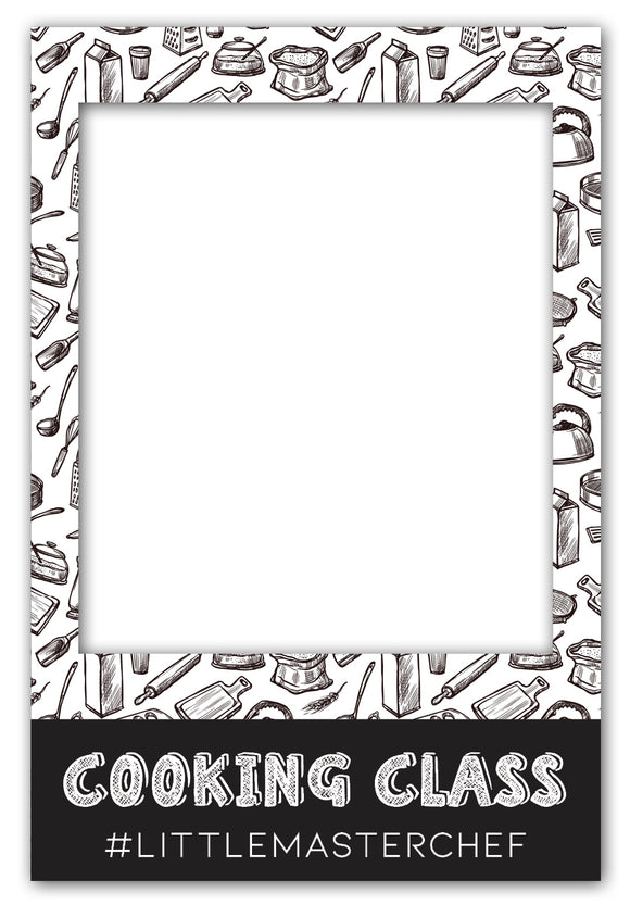 cooking-party-photo-booth-frame-prop-large