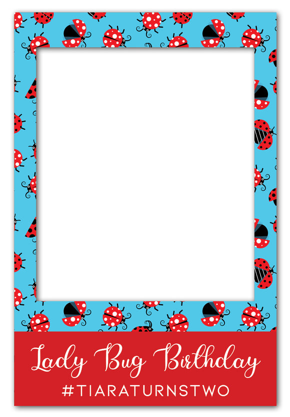 ladybug-birthday-party-photo-booth-frame-prop