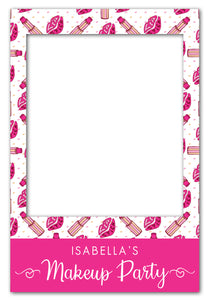 makeup-party-photo-booth-frame-prop