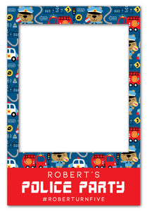 police-theme-birthday-party-photo-booth-frame-prop