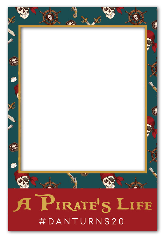 pirate-theme-party-photo-booth-frame-prop