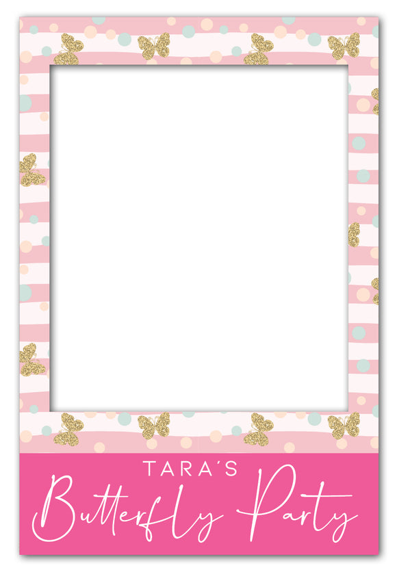 butterfly-birthday-party-photo-booth-frame-prop