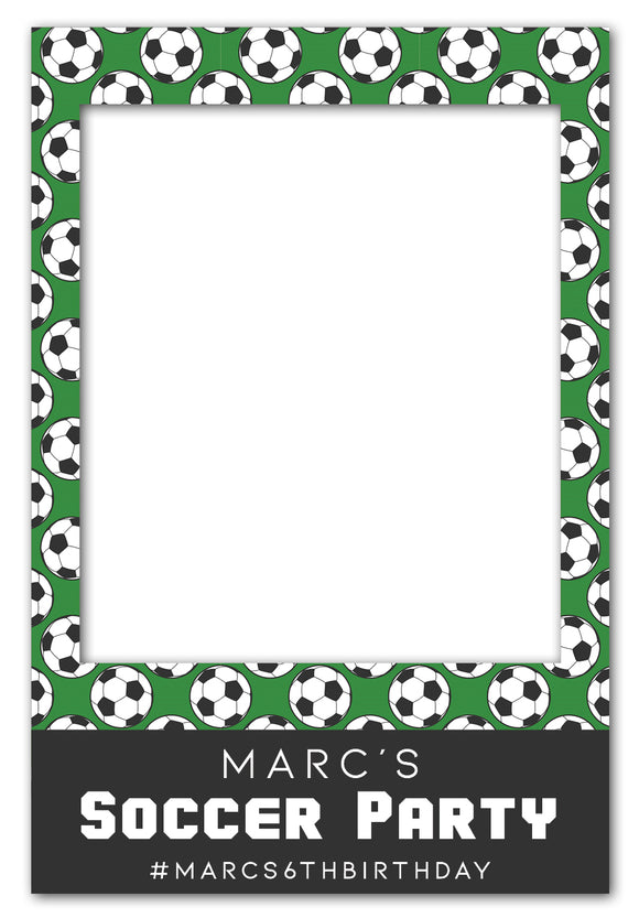 soccer-themed-birthday-party-photo-booth-frame-prop