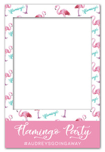 white-flamingo-party-photo-booth-frame-prop-large