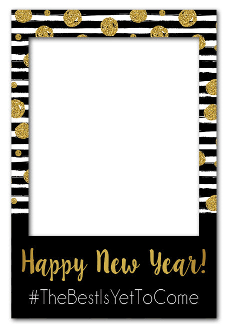 New Years Eve Photo Booth Prop (60 x 90 cm)