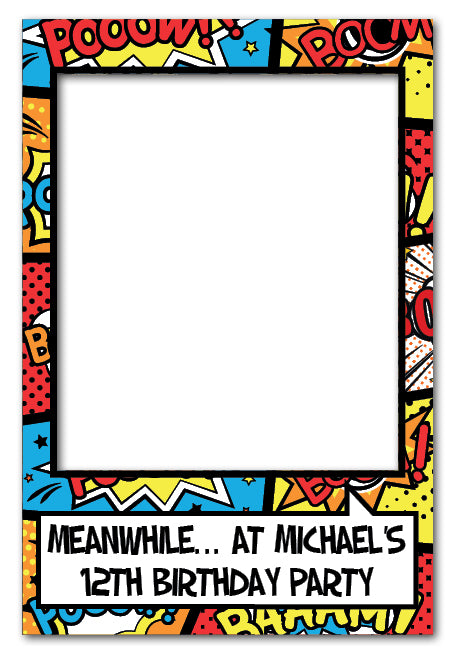 super-hero-party-photo-booth-prop-frame-medium