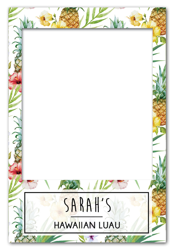 Luau Party Props Photo Booth Frame - Medium (60 x 90 cm) Australia ...