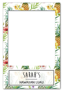 Luau Party Props Photo Booth Frame - Medium (60 x 90 cm) Australia