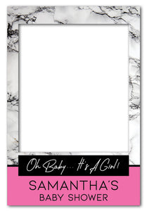 its-a-girl-pink-and-marble-photo-booth-frame-prop-medium