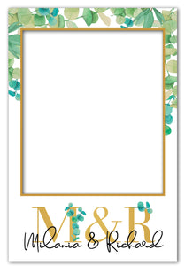 eucalyptus-engagement-photo-booth-frame-prop
