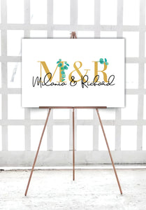 eucalyptus-engagement-welcome-sign