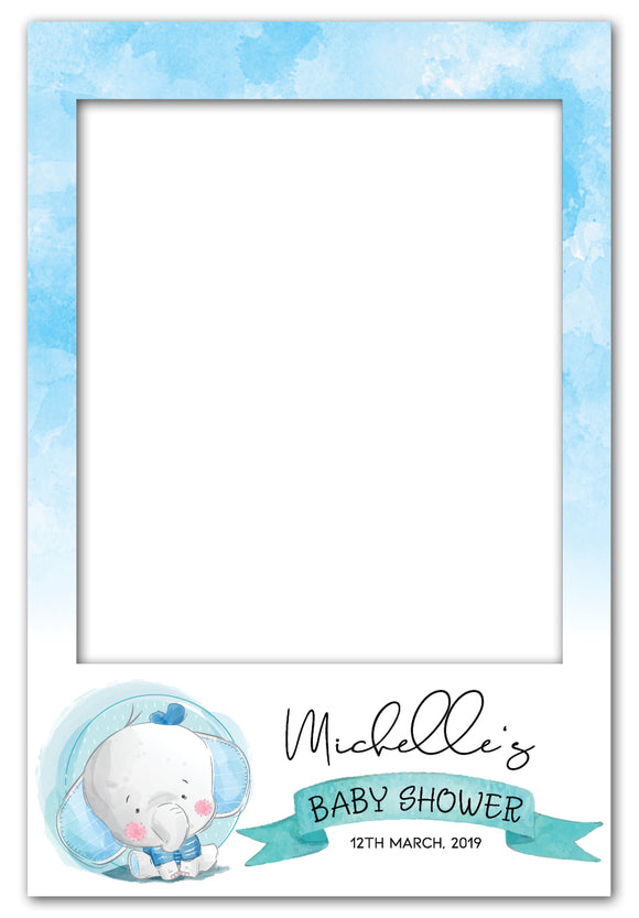 boy-elephant-baby-shower-photo-booth-frame-prop
