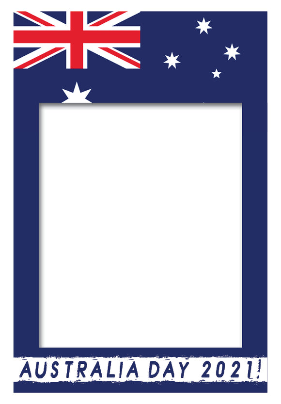 Australia Day Photo Booth Frame