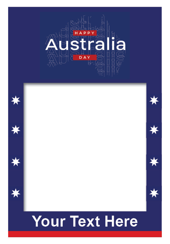 australia-day-stars-photo-booth-frame