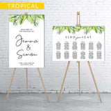 tropical-welcome-sign-and-seating-chart-bundle