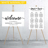 white-minimalist-welcome-sign-and-seating-chart-bundle