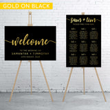 black-gold-minimalist-welcome-sign-and-seating-chart-bundle