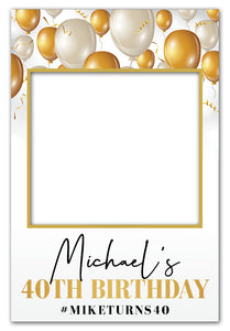 gold-balloons-birthday-photo-booth-frame