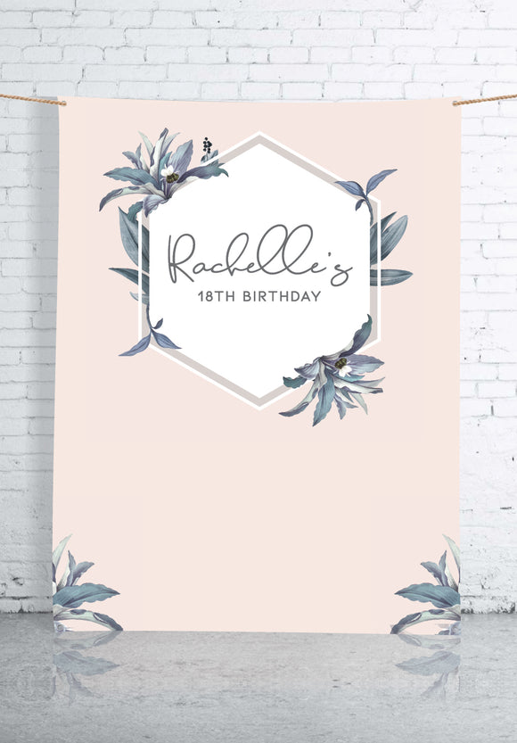 pastel-pink-and-leaves-birthday-backdrop
