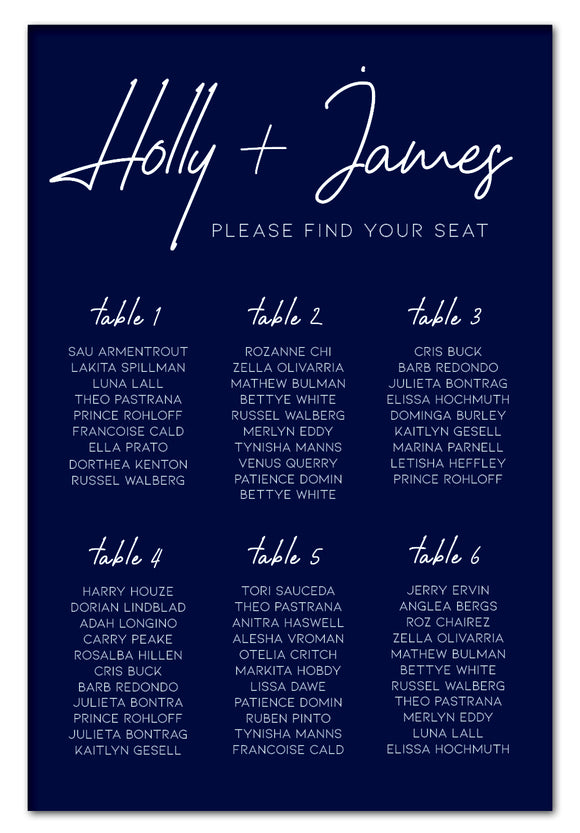 navy-blue-and-white-modern-hand-wedding-seating-chart