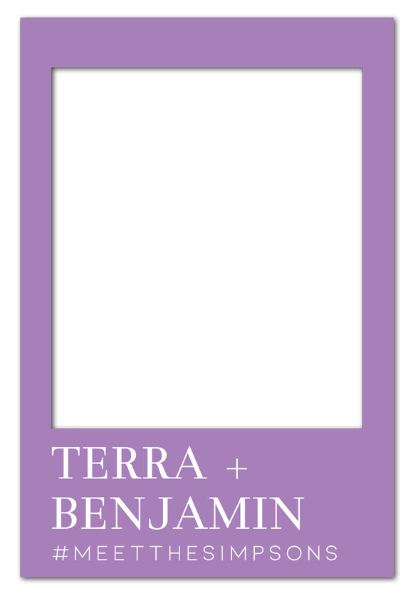 lavender-and-white-timeless-photo-booth-frame