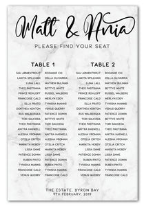 grey-marble-wedding-seating-chart