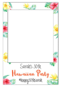 hawaiian-theme-party-photo-booth-frame-prop-large