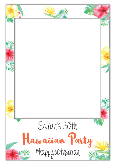 hawaiian-theme-party-photo-booth-frame-prop-medium