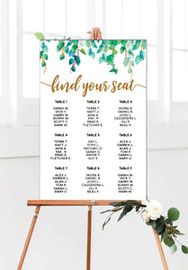 wild-leaves-wedding-seating-chart-portrait
