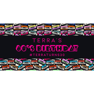 80s-theme-birthday-party-personalised-banner