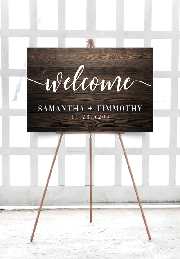 dark-wood-engagement-wedding-welcome-sign-australia