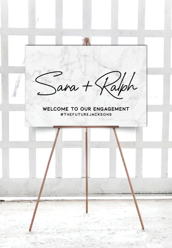 grey-marble-engagement-party-welcome-sign-landscape-large