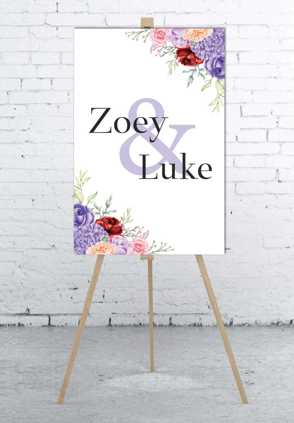 minimalist-floral-watercolour-welcome-sign-portrait