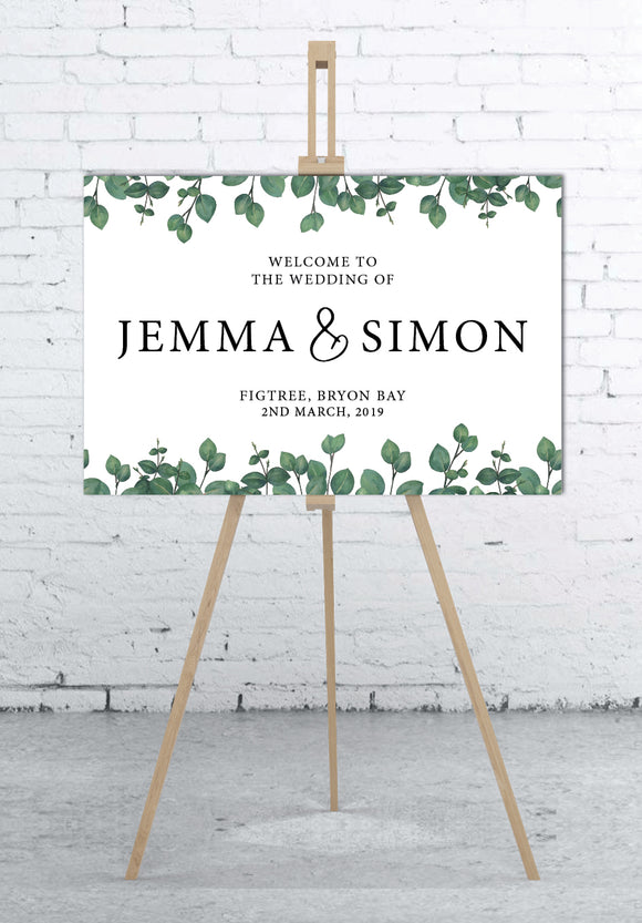 greenery-welcome-sign-portrait