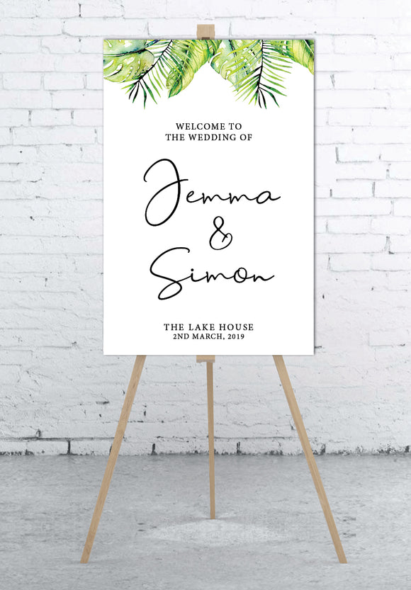 tropical-wedding-welcome-sign-portrait-large