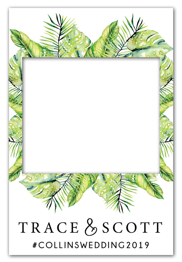 tropical-wedding-photo-booth-frame