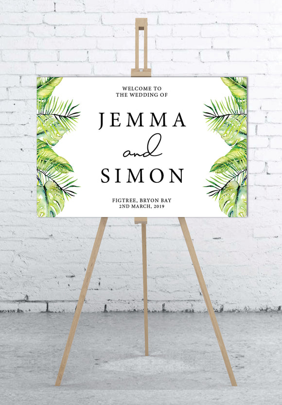 tropical-wedding-welcome-sign-landscape