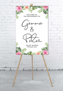 pink-and-tropical-wedding-welcome-sign-portrait-large
