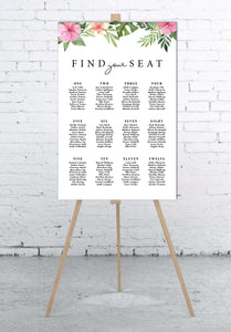 pink-and-tropical-wedding-seating-chart-portrait