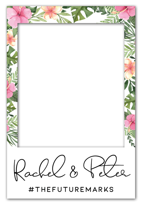 pink-and-tropical-wedding-photo-booth-frame