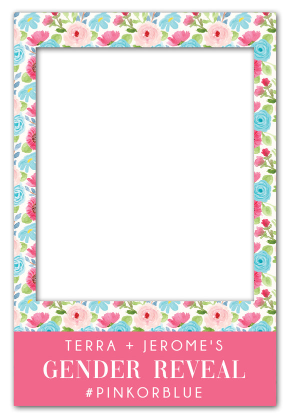 pink-and-blue-flowers-gender-reveal-photo-booth-frame-prop