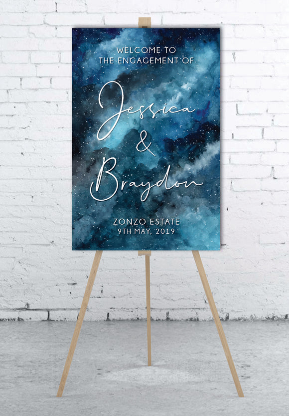 a-starry-night-engagement-wedding-welcome-sign
