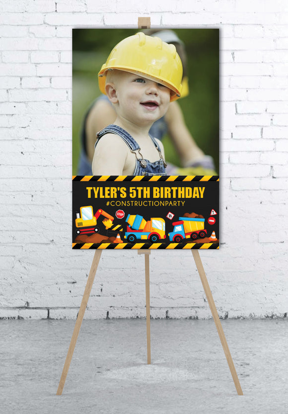 construction-birthday-party-photo-welcome-sign