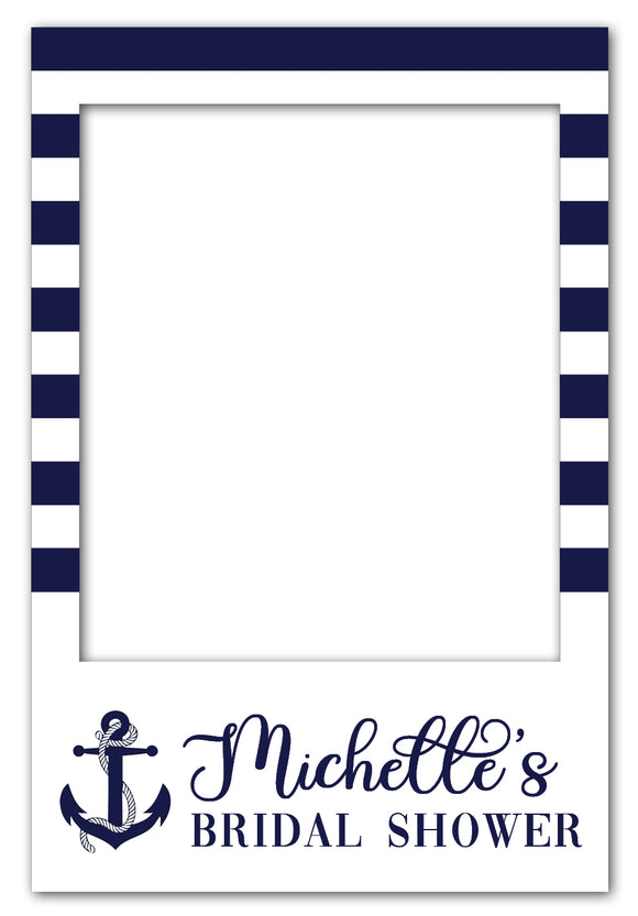 nautical-bridal-shower-photo-booth-frame-prop