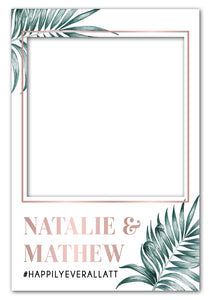 rose-gold-palm-wedding-photo-booth-frame