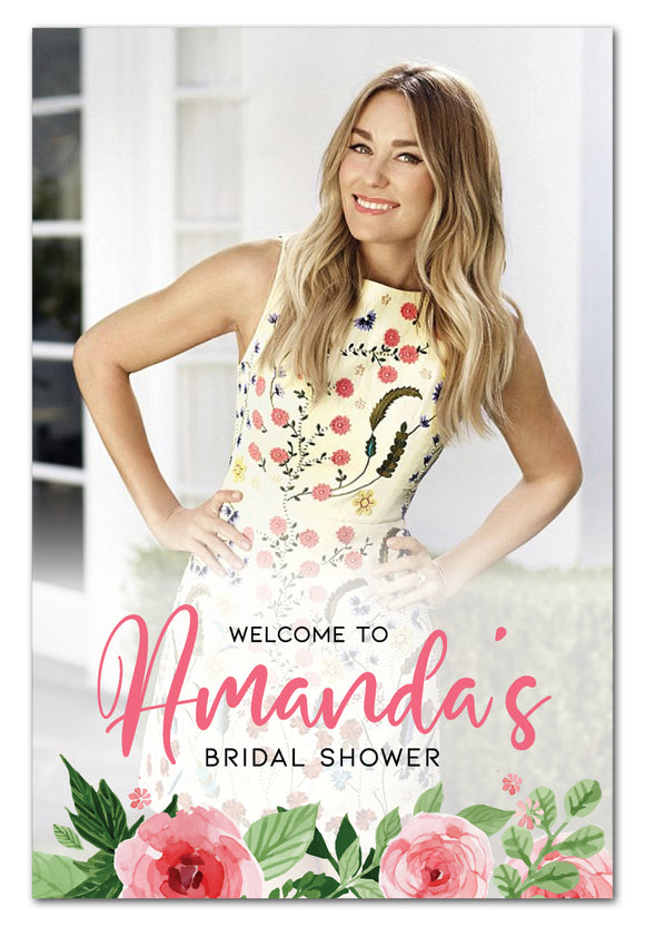 photo-pink-flowers-bridal-shower-welcome-sign