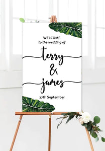 palm_leaf_wedding_welcome_sign_portrait